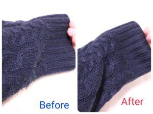 100均→4000円台の毛玉取り器に変えたらセーターが新品並に蘇った話